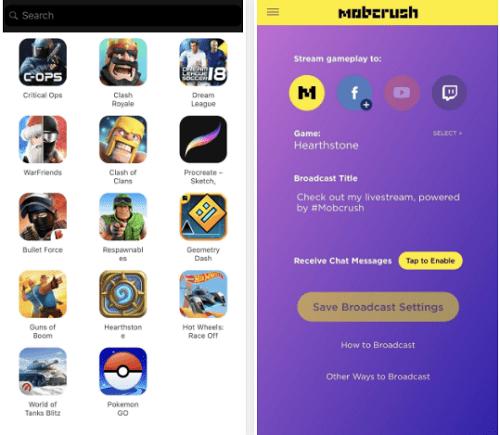 Hướng dẫn cách Livestream game miễn phí trên Facebook, Youtube…trên iPhone