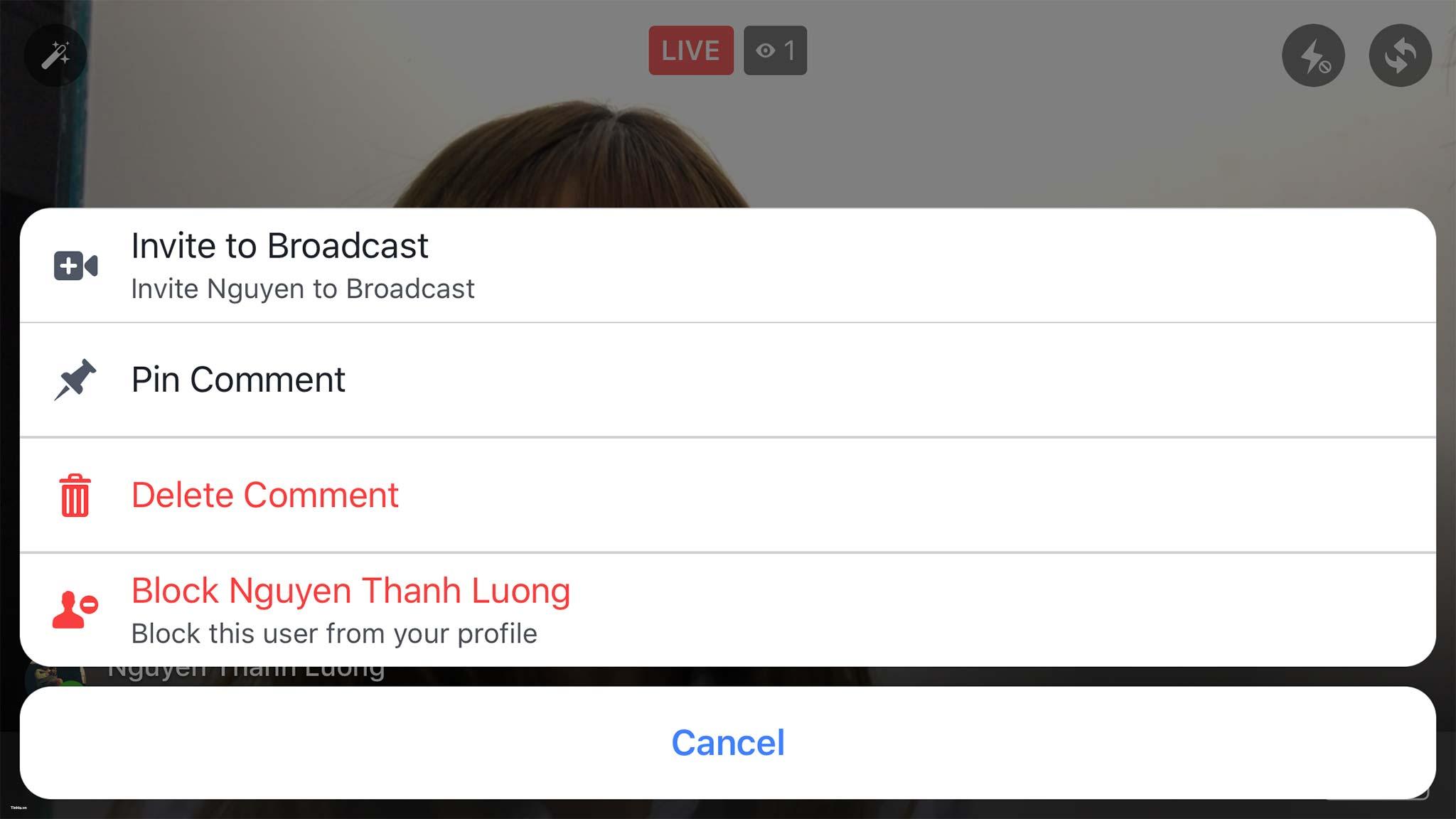 Tính năng Livestream hai người cùng lúc chính thức phổ cập tại Việt Nam