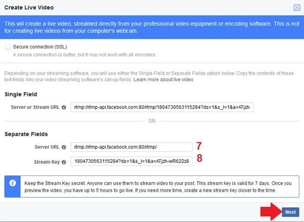 Cách live stream facebook miễn phí bằng ứng dụng live stream XSplit