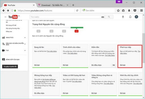 Cách live stream trực tiếp Youtube, phát trực tiếp video trên Youtube từ máy tính