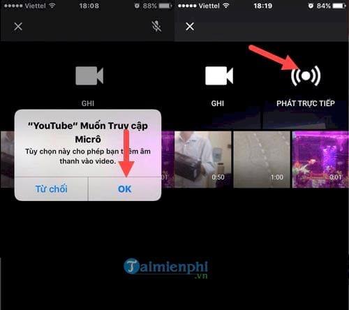 Tips hướng dẫn cách phát video trực tiếp Youtube bằng smartphone iPhone, Android