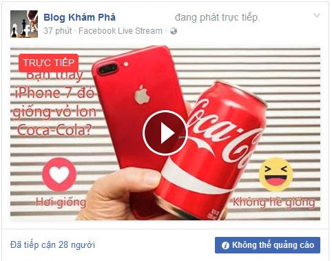Hướng dẫn chi tiết cách phát video trực tiếp trên Facebook cá nhân