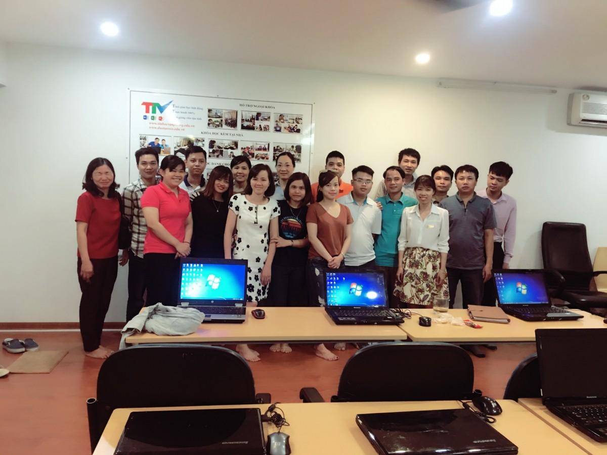 Trung Tâm Trí Tuệ Việt Đào Tạo THVP Cho Công ty
