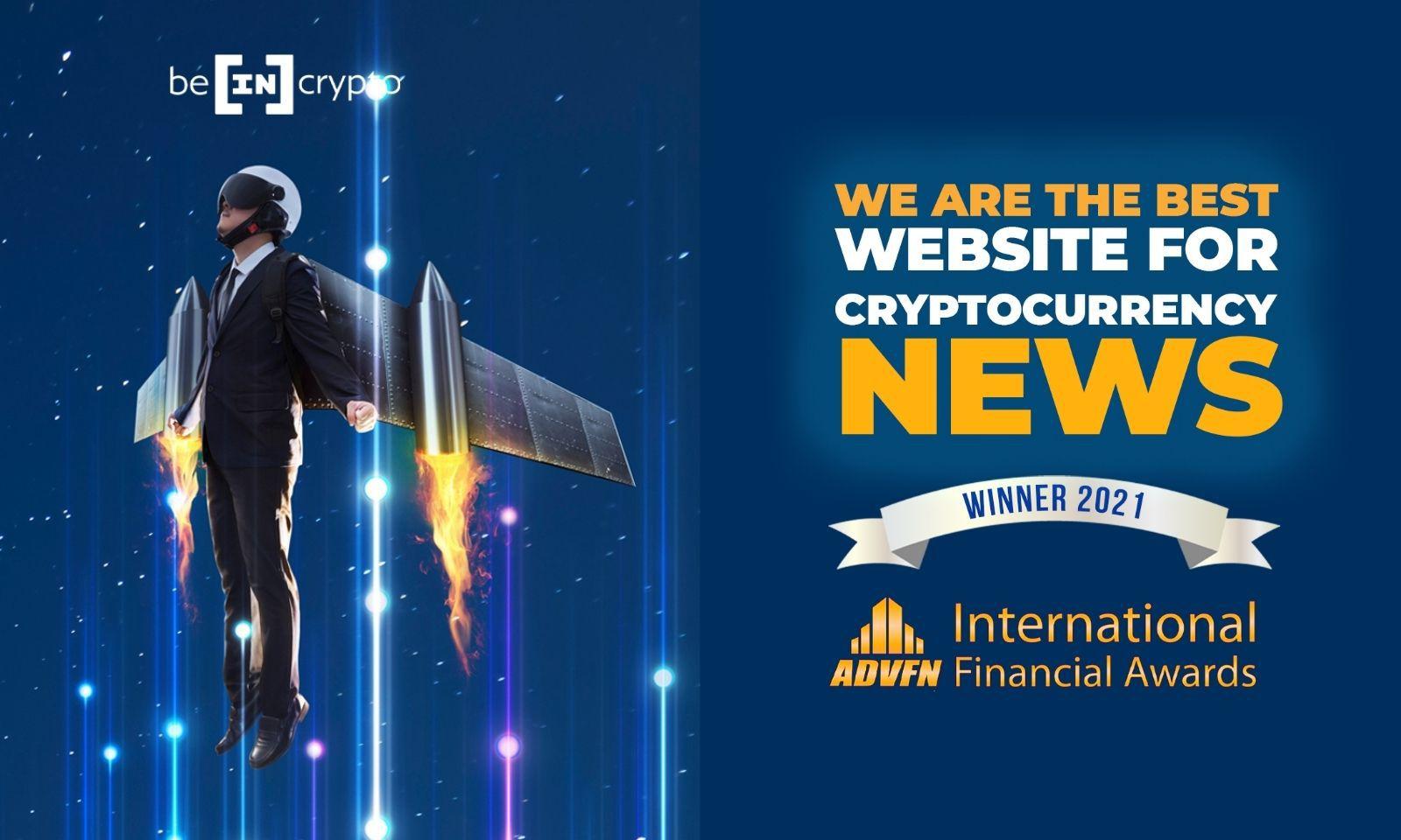 BeInCrypto được vinh danh tại giải thưởng Trang web tin tức tiền điện tử tốt nhất năm 2021 - BeInCrypto Việt Nam