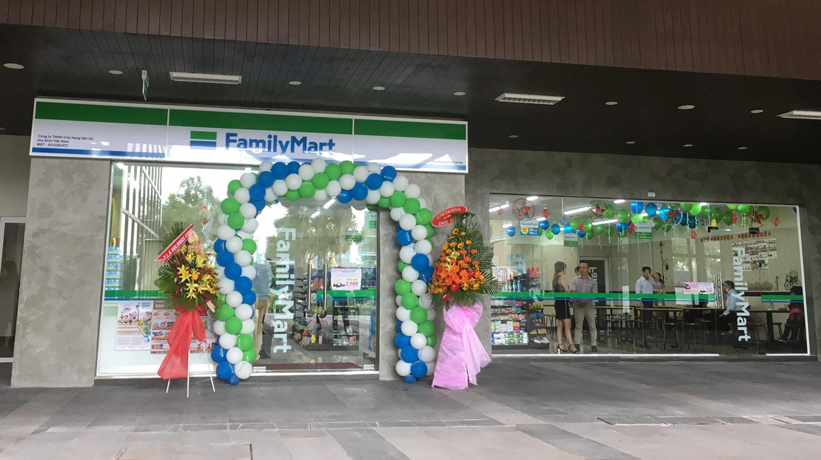 Famima – Chuỗi cửa hàng tiện lợi tại Việt Nam