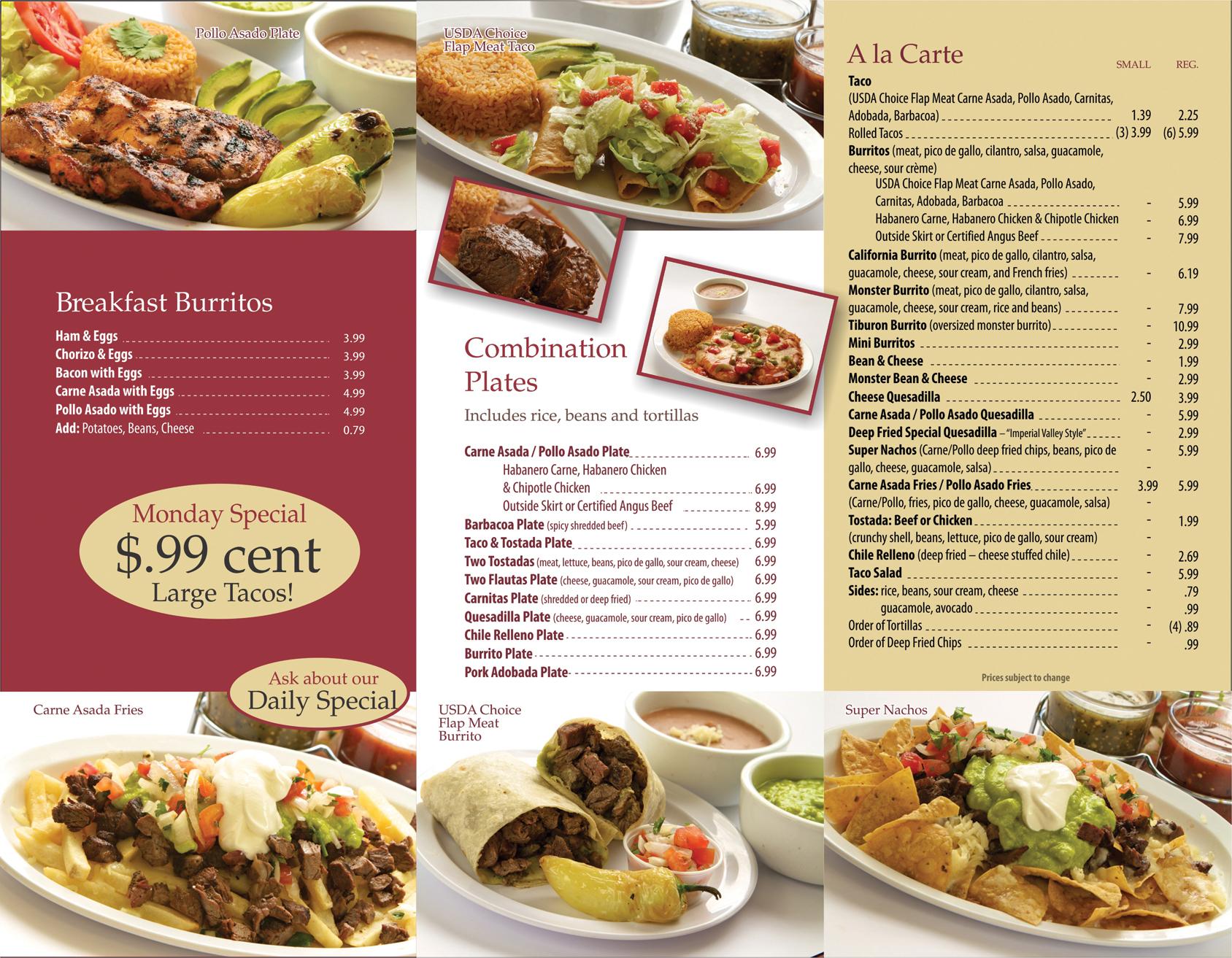 Thiết kế thực đơn nhà hàng theo xu hướng mới - Trung tâm Smart Goal