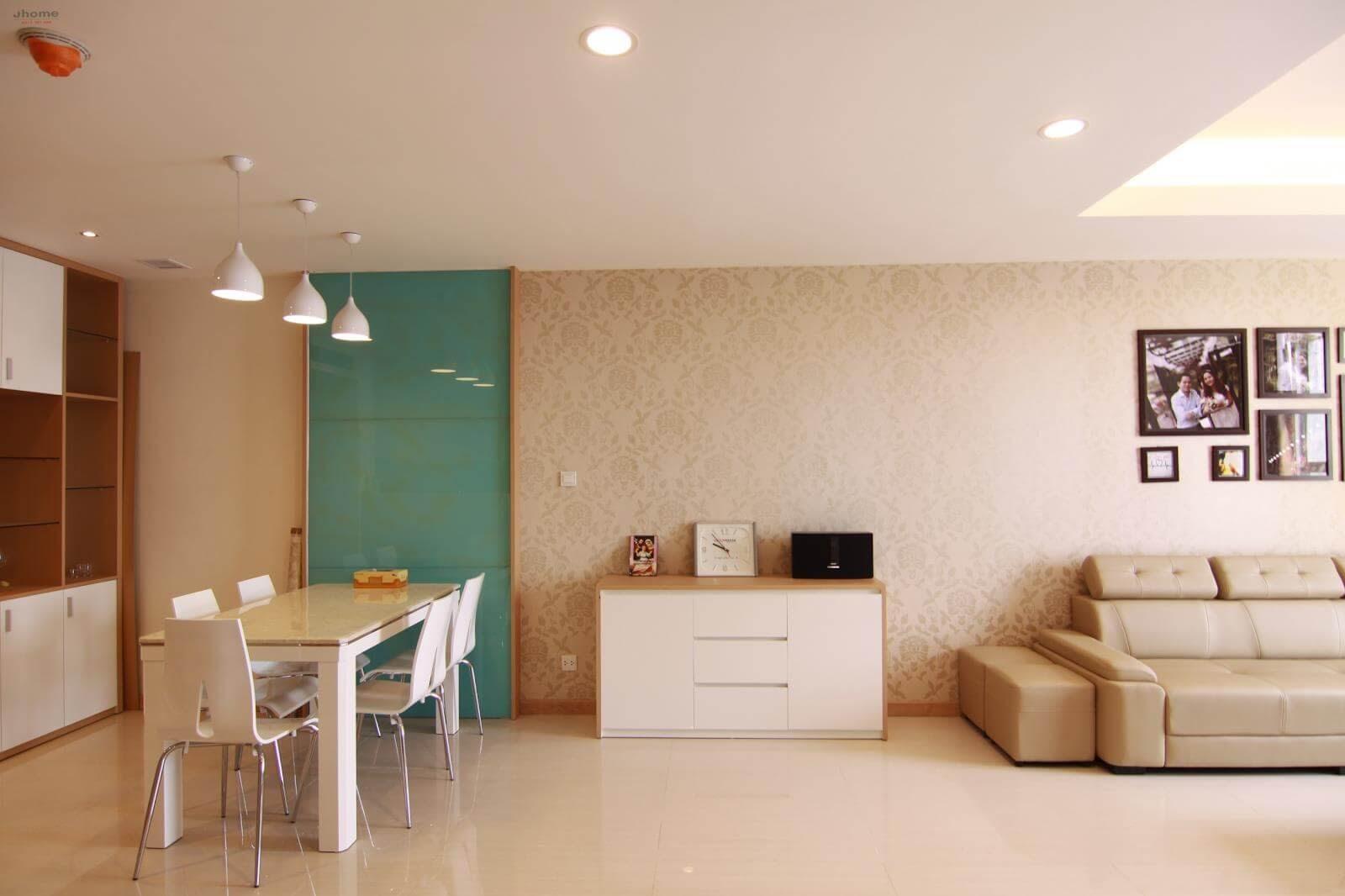 Thiết kế không gian nhà ở đẹp với gam màu be chủ đạo