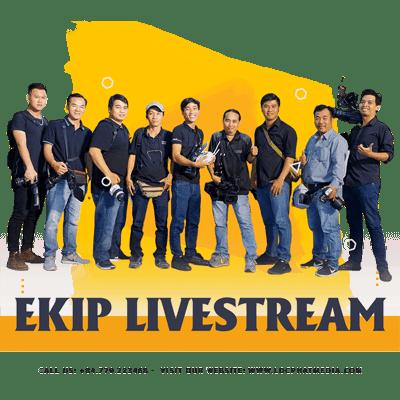Ekip dịch vụ livestream Lộc Phát Media